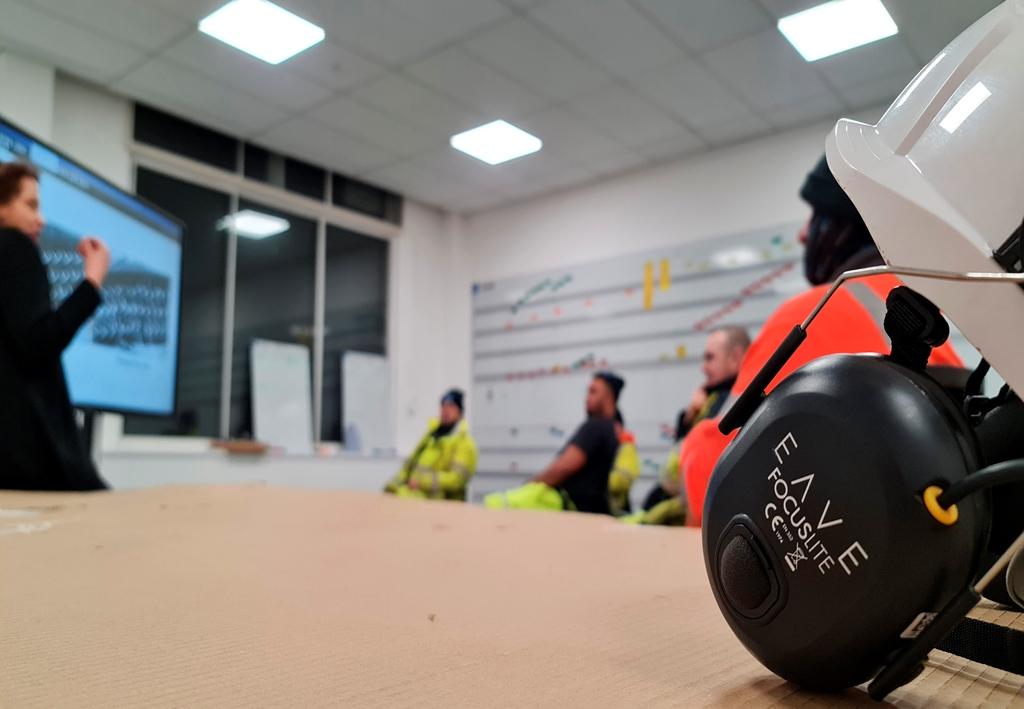 A1 road workers get smart ear defenders