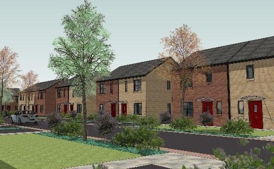 Esh starts Castleford housing estate