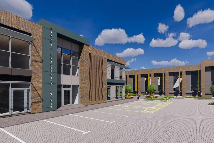 Willmott Dixon to build Bingham Arena and Enterprise Centre