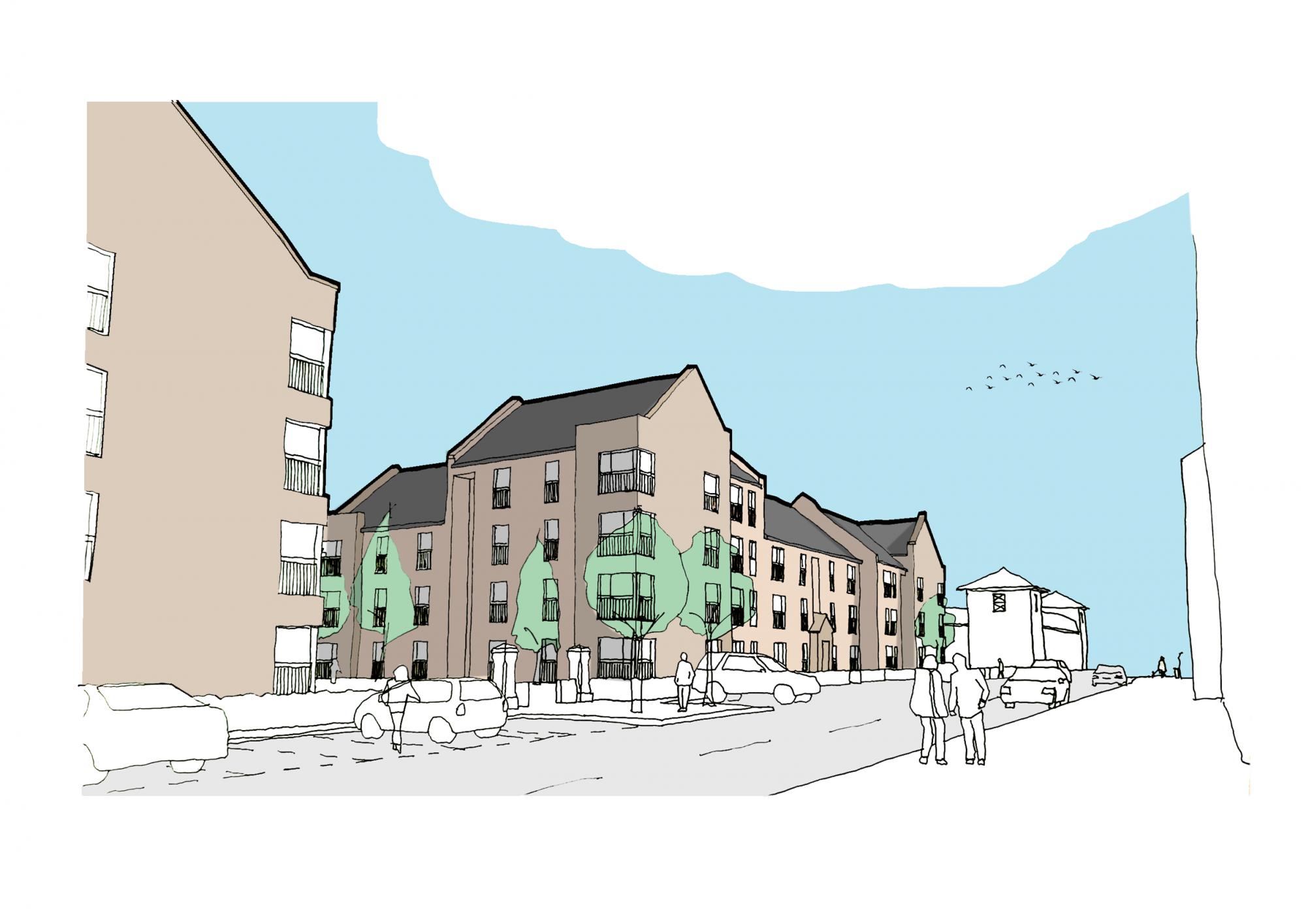 Cruden starts on Kirkintilloch housing scheme