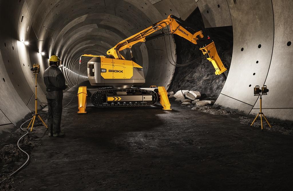 Brokk introduces its biggest demolition robot