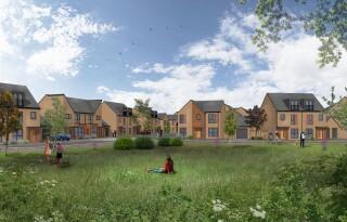 CGI of the new estate