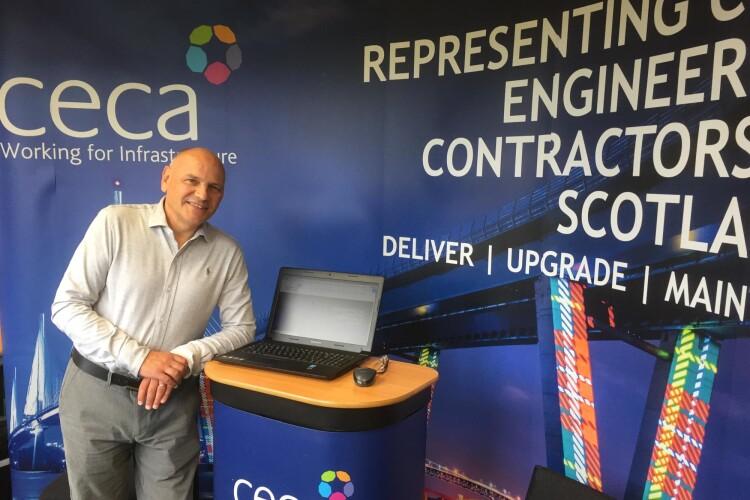 CECA Scotland chief executive Grahame Barn