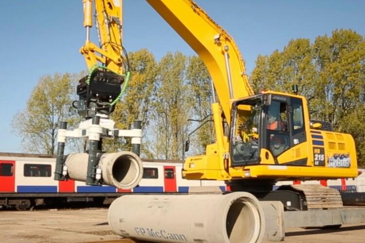 The excavator-mounted Articulator 5000