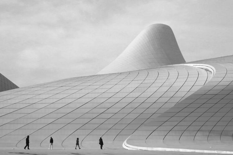 The overall winner was this image of the Heydar Aliyev Center in Baku, Azerbaijan, by Nurlan Tahirli