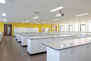Willmott Dixon has built new laboratories on Level 7...