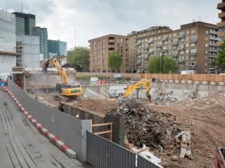 Demolition works, spring 2019