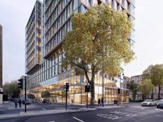 Architect SimpsonHaugh's design for the new hotel complex