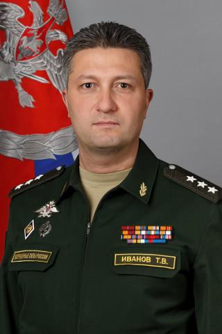 Deputy defence minister Timur Ivanov