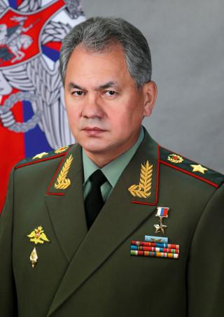 Defence minister Sergei Shoigu