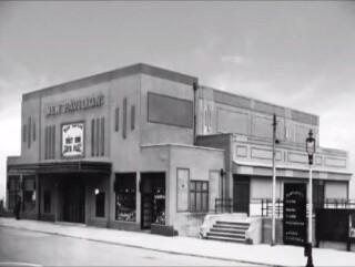 The old New Pavilion cinema