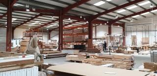 Sentry Doors' factory in Doncaster