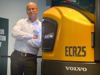 Ahcène Nedjimi, Volvo CE's electromobility specialist