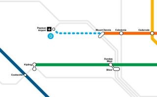 West End Connectors is FNP for the Eglinton Crosstown West Extension