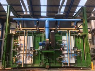 Thermal Recycling's kiln
