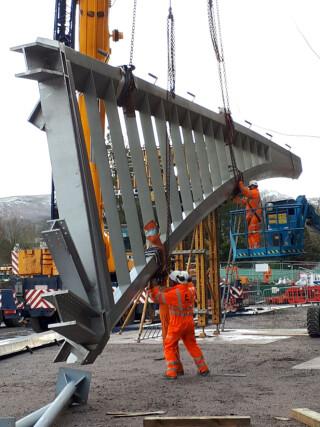 Adjusting the rigging