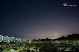 Virgin Hyperloop One has a test track in Nevada