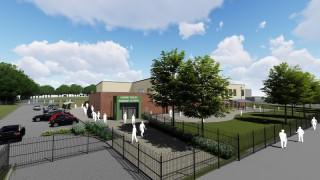 Artist's impression of the  new primary school