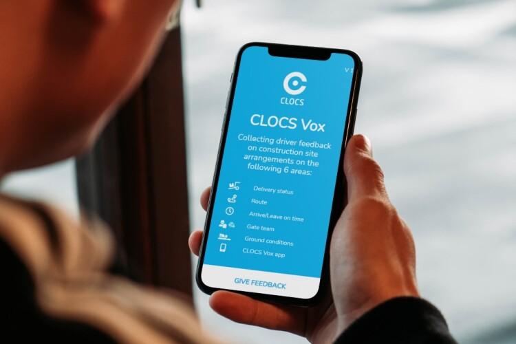 The CLOCS Vox app