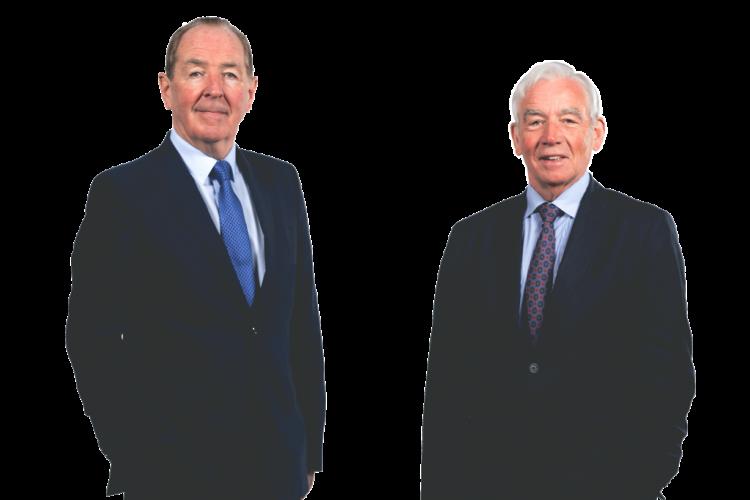 Chief executive Eamonn Laverty & Seamus McAleer, founder & chairman)
