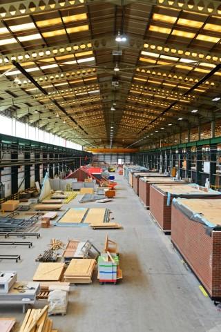 Ilke's factory in Knaresborough