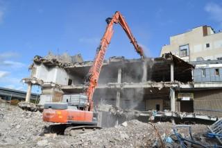 The three modified machines are working in Preston