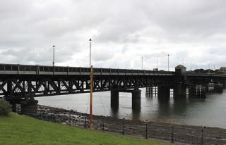 Jubilee Bridge, the longest in Cumbria