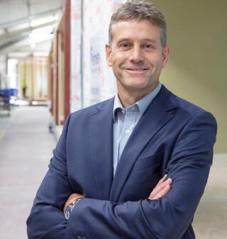 Managing director David Harris