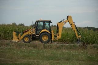 Cat 432 backhoe loader