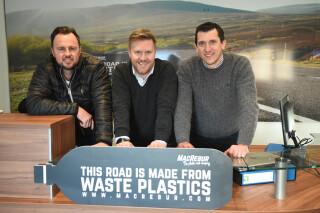 MacRebur was founded by (left to right) Nick Burnett, Toby McCartney and Gordon Reid