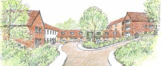 Artist's impression of the Caversham home
