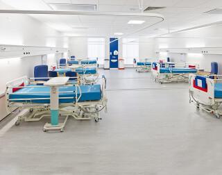 A Caledonian Modular hospital ward