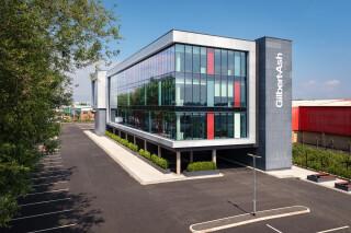 Gilbert-Ash's new headquarters in Boucher Place, Belfast
